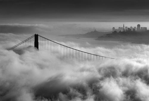 Lighthouse fog